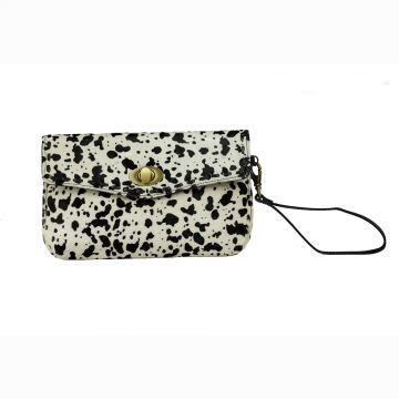 Frisky Black and White Wallet