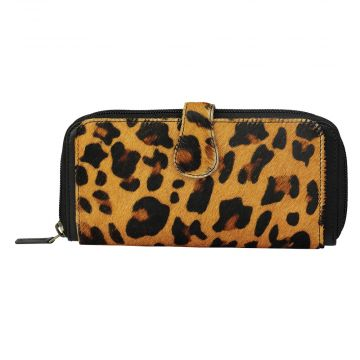 Exquisite Leopard Print Wallet