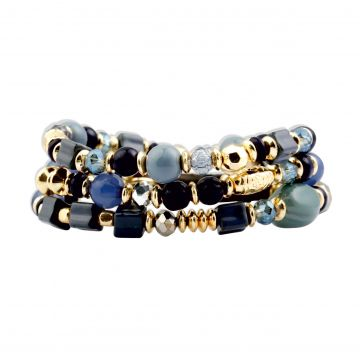 blue waves bracelet