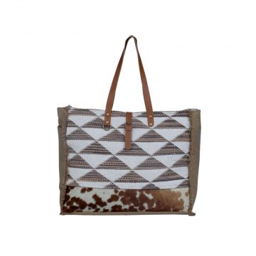 Rhythmic Shapes  Weekender Bag