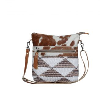 Dusky Triangles  Small & Crossbody Bag