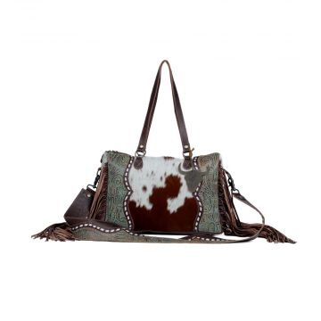 Dangle Wangle  Leather & Hair On Bag