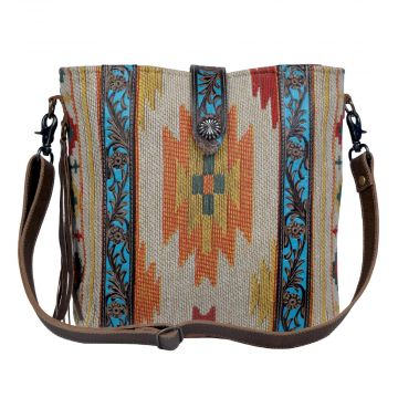 Beaming & bright Hand-Tooled Bags