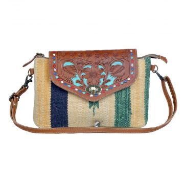 Beamy Rays Hand-Tooled Bags