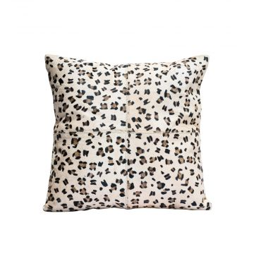 Mighty leopard print cushion cover