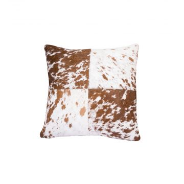 dapple brown cushion cover