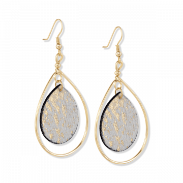GOLD SPECKLES EARRING