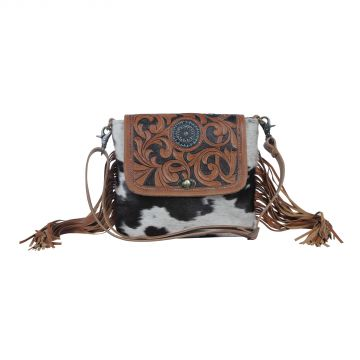 brown boughs  Hand-Tooled Bag